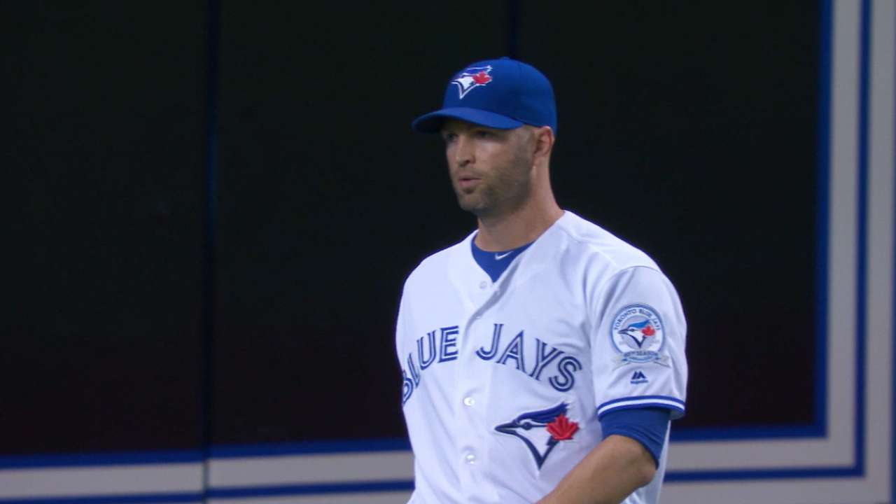 Happ limits Yanks as Blue Jays even series