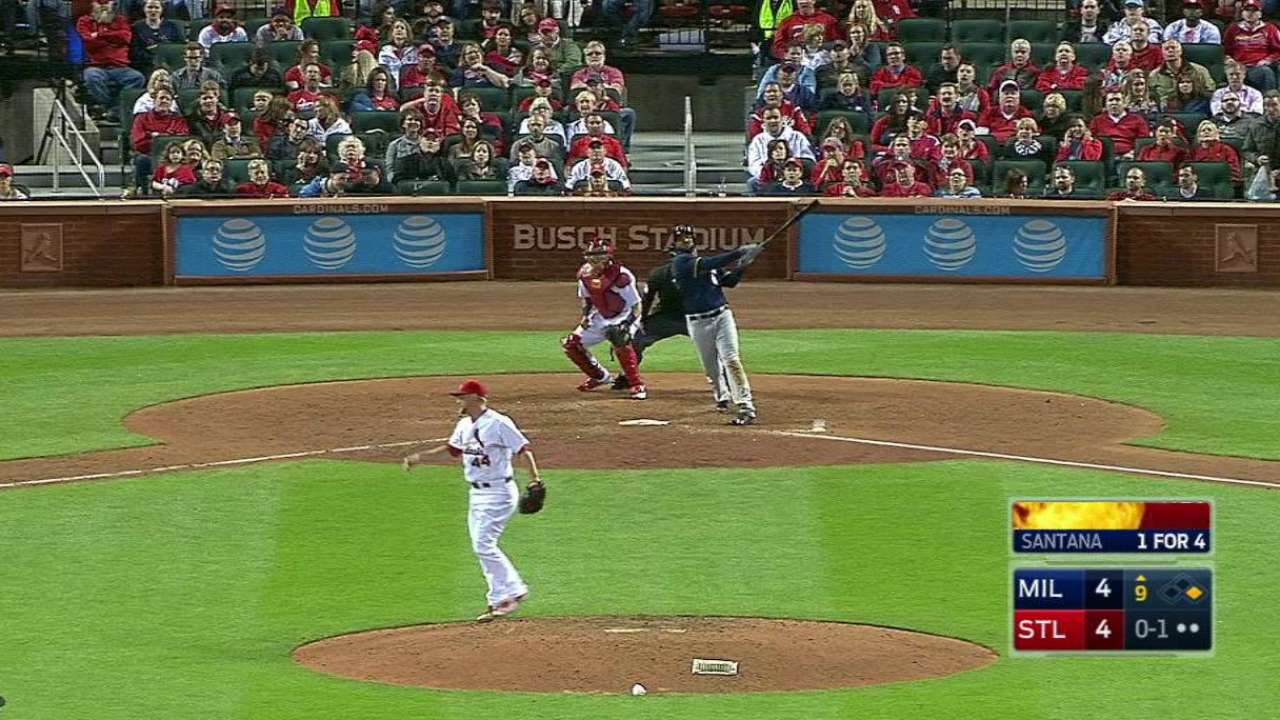 Deep trouble: Rosenthal falling behind in counts