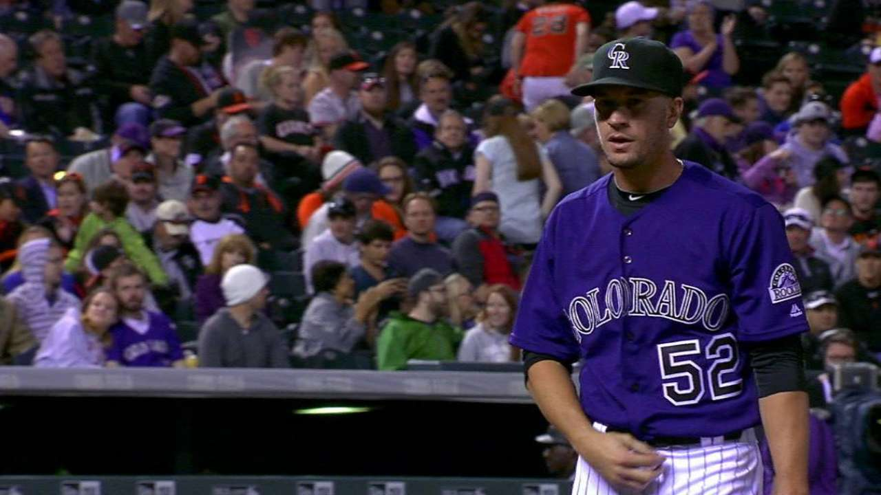Rusin's first strikeout