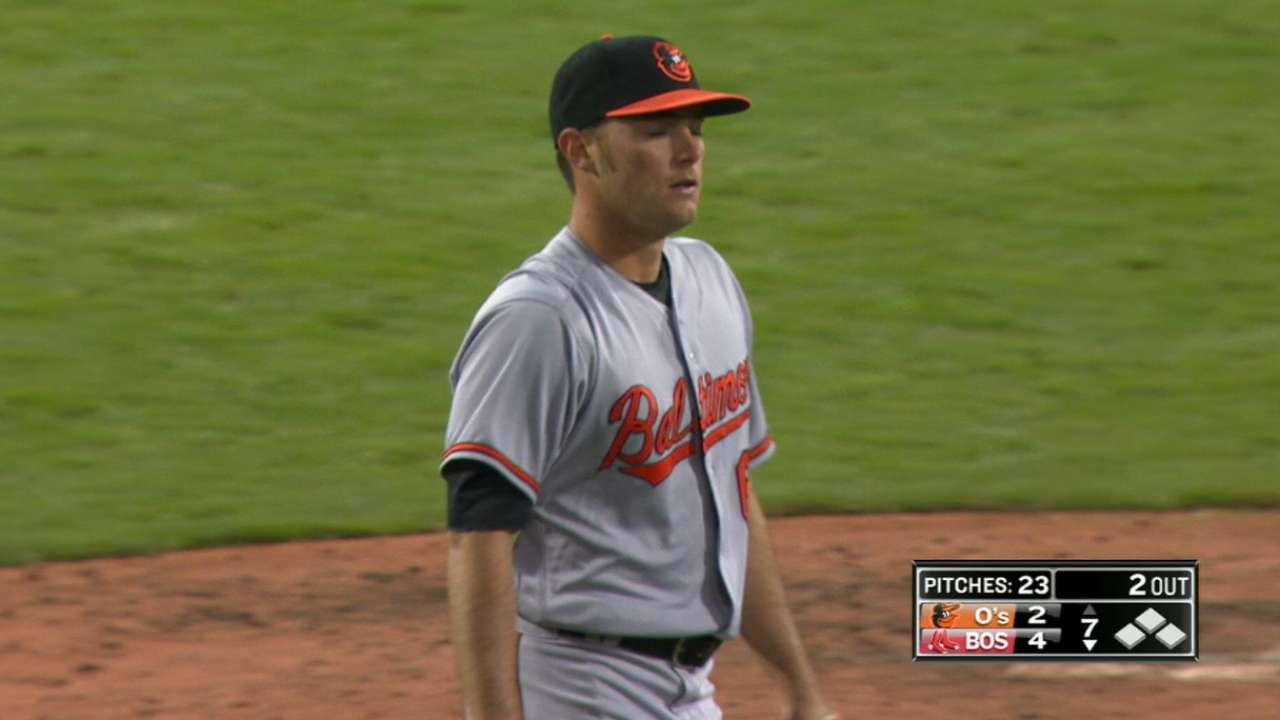 Wilson emerges from layoff to save O's 'pen