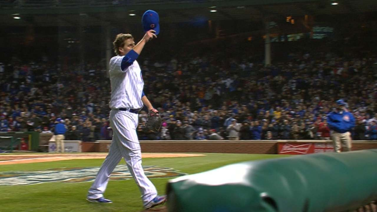 Lackey brings quality to 1st Cubs start at home