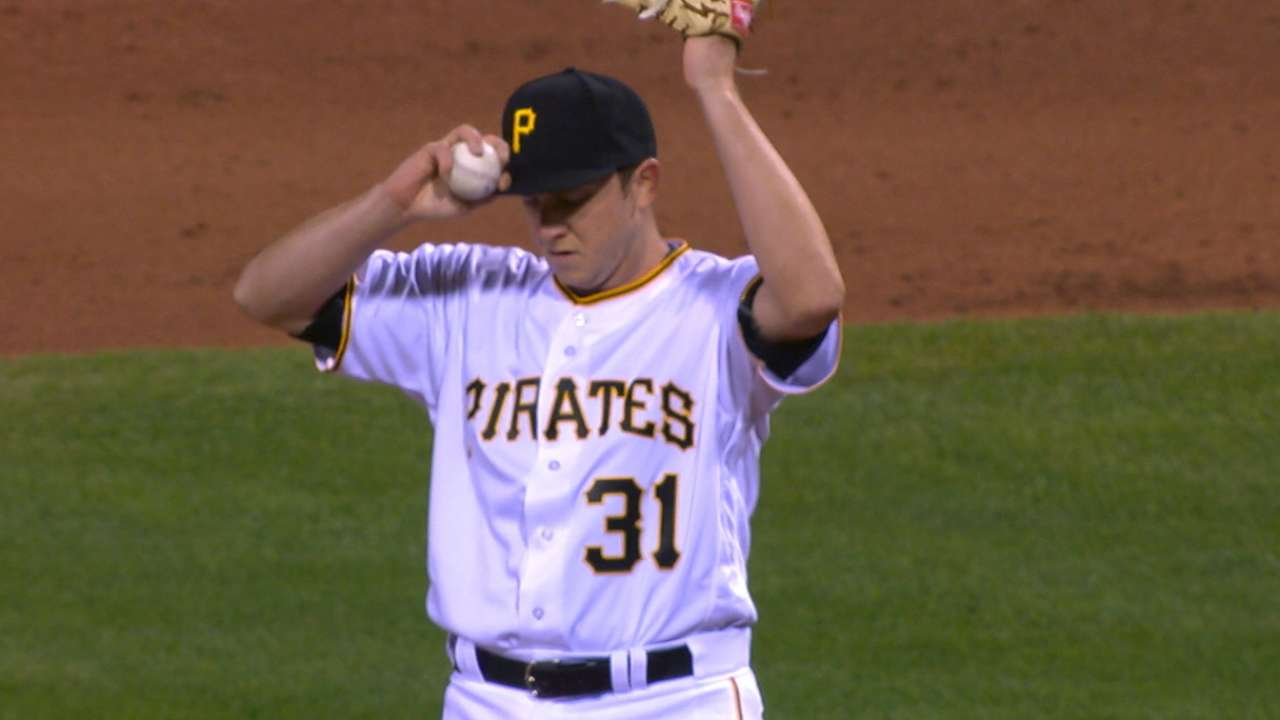 Schugel's Pirates debut