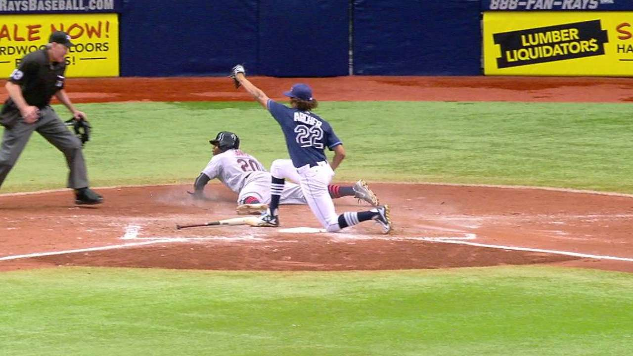 Frustration necessary for Rays to get on track