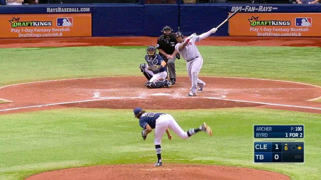 Byrd's two-run homer