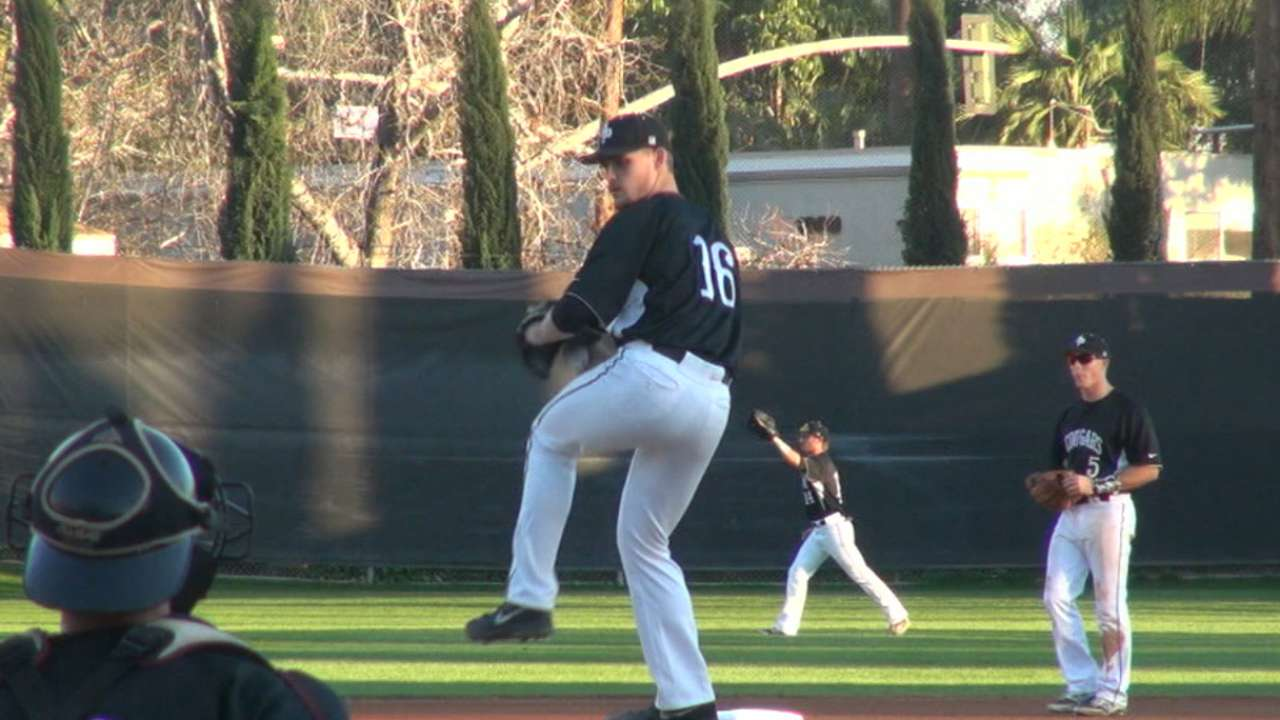 Royals draft RHP Staumont No. 64