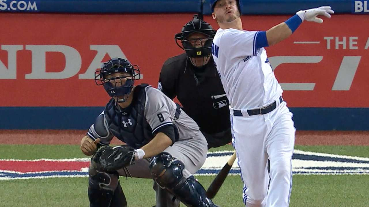 Donaldson's homer delivers big wake-up call