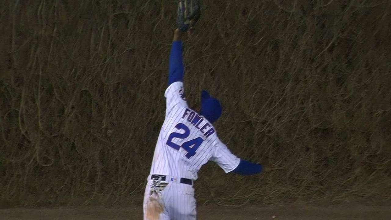 Fowler's impressive catch