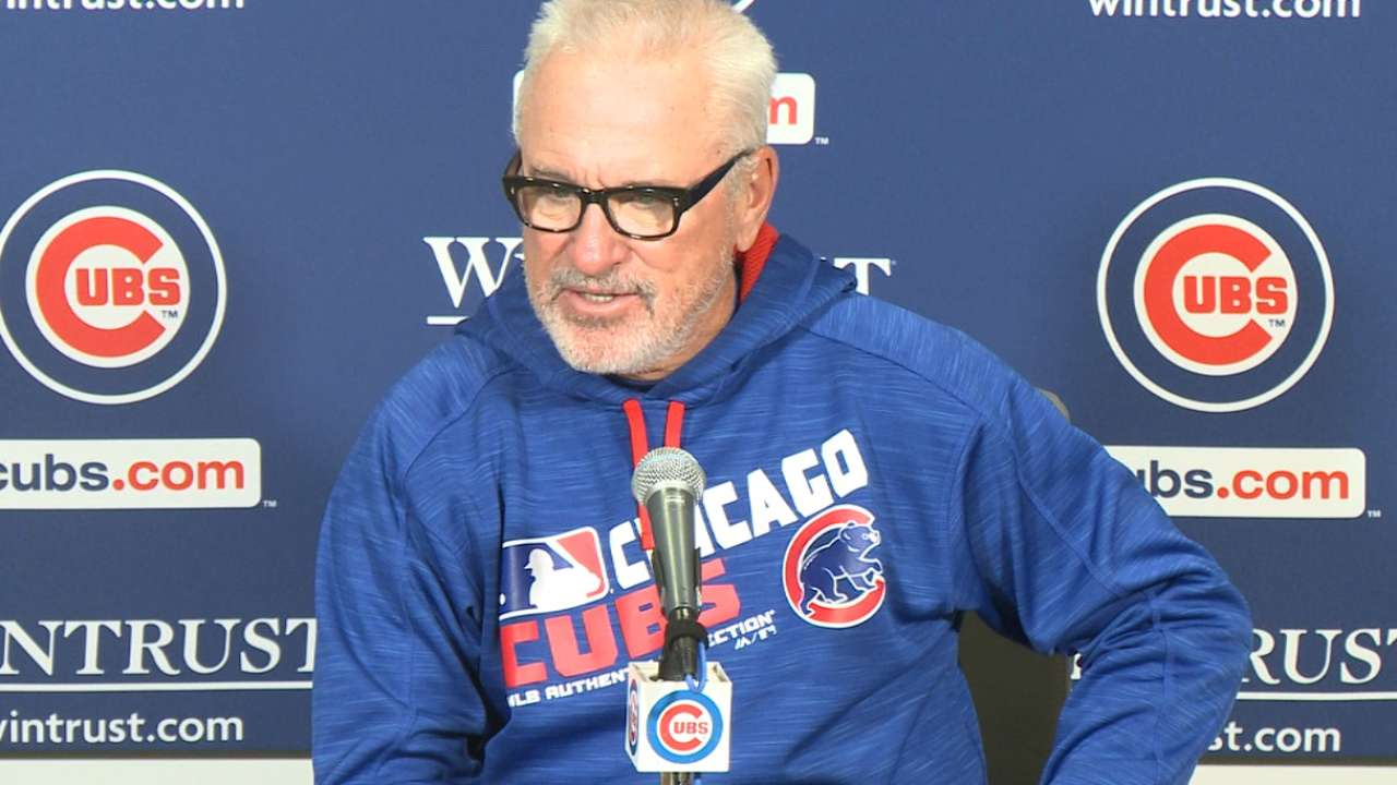 Maddon on hot start for Cubs