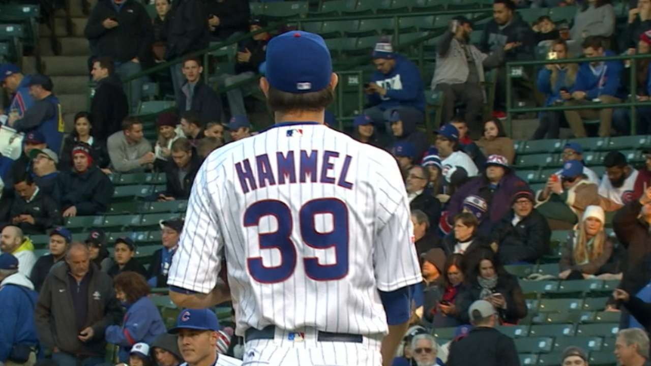 Hammel helps himself in return to Wrigley