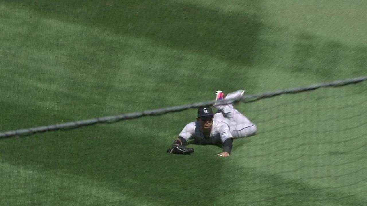 CarGo's diving catch