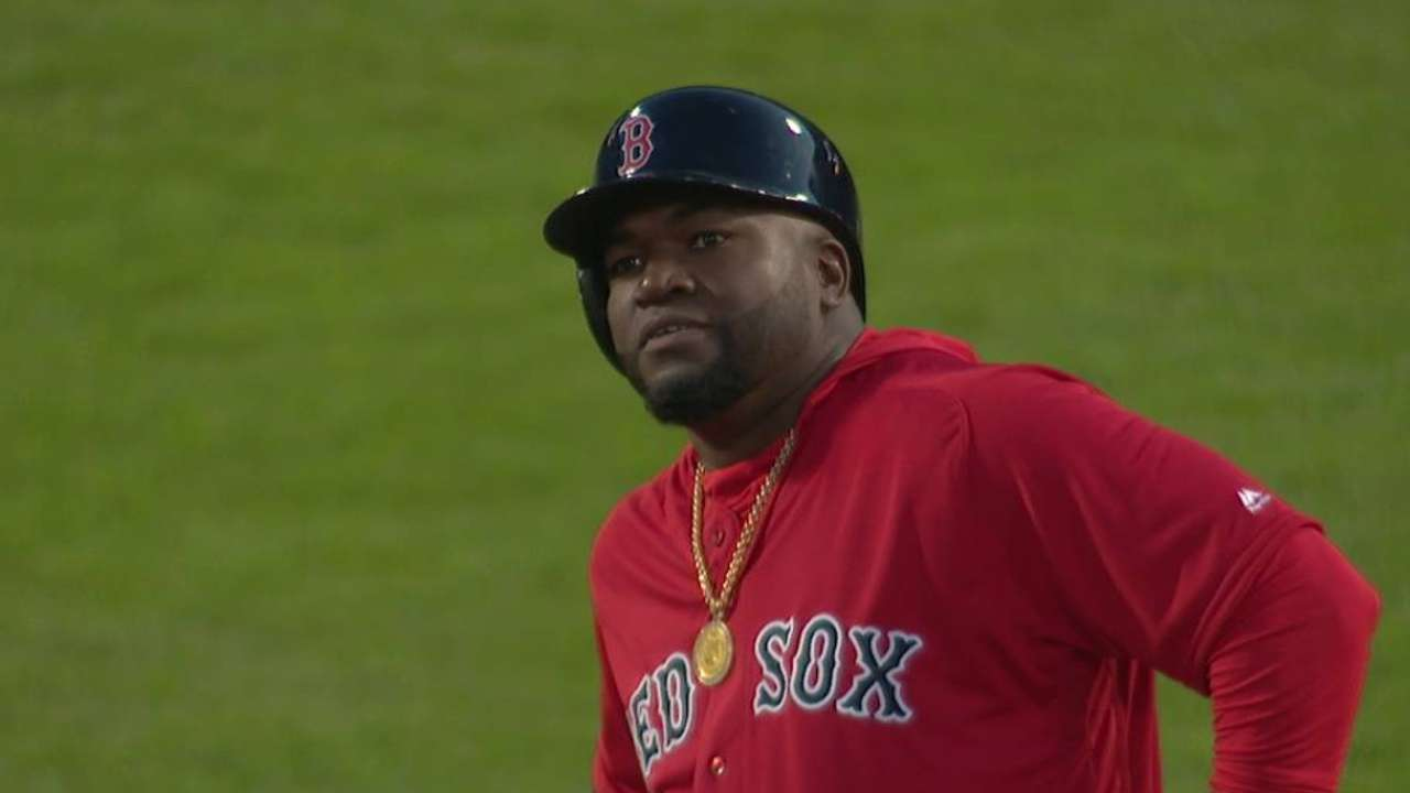 Ortiz's long RBI double