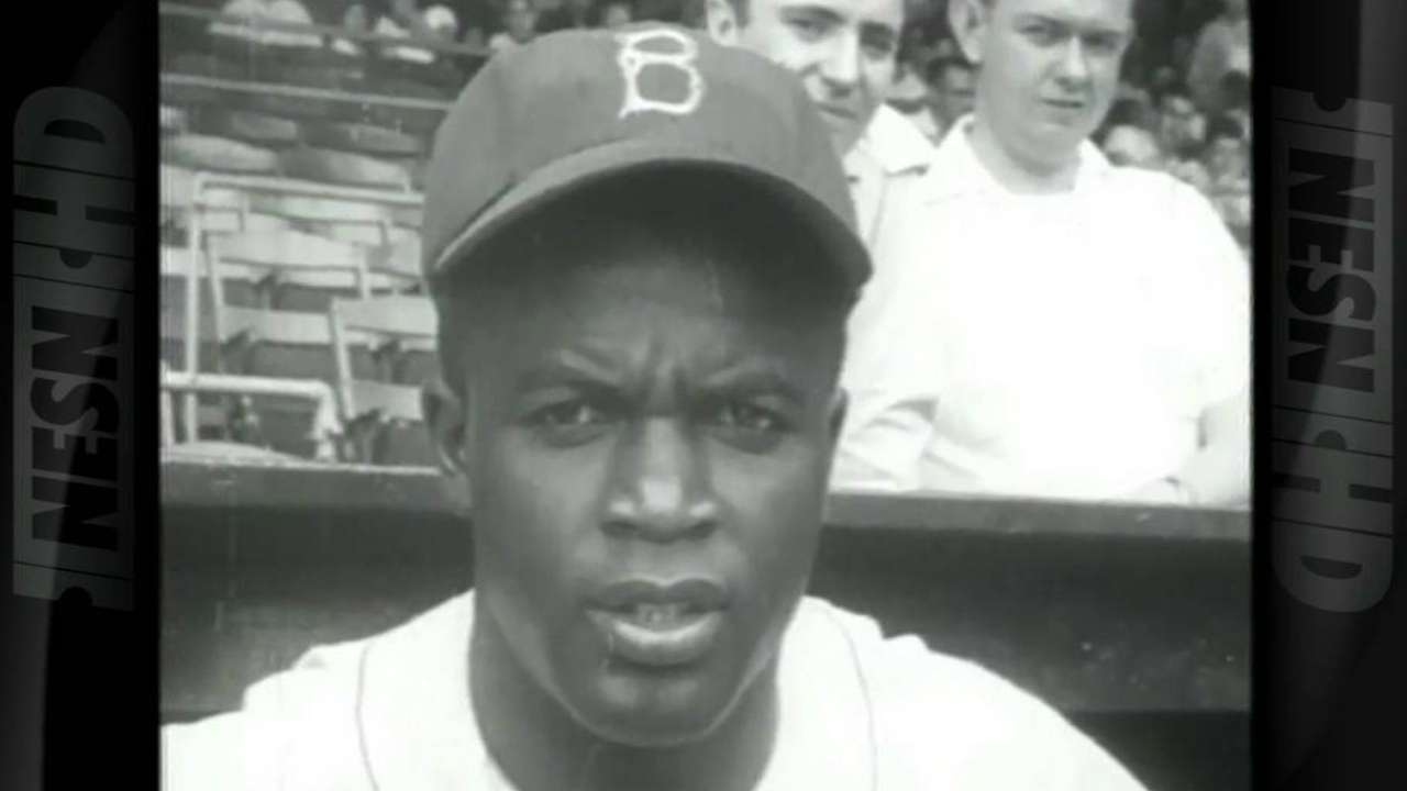Red Sox reflect on Jackie's far-reaching impact