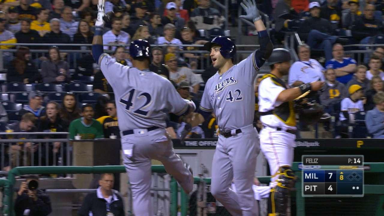 Braun's two home runs