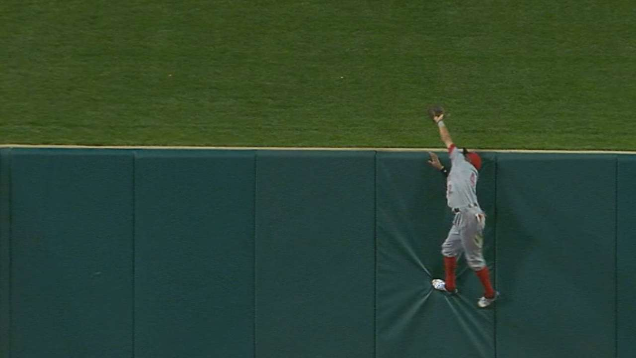Hamilton paying painful price for superb catch
