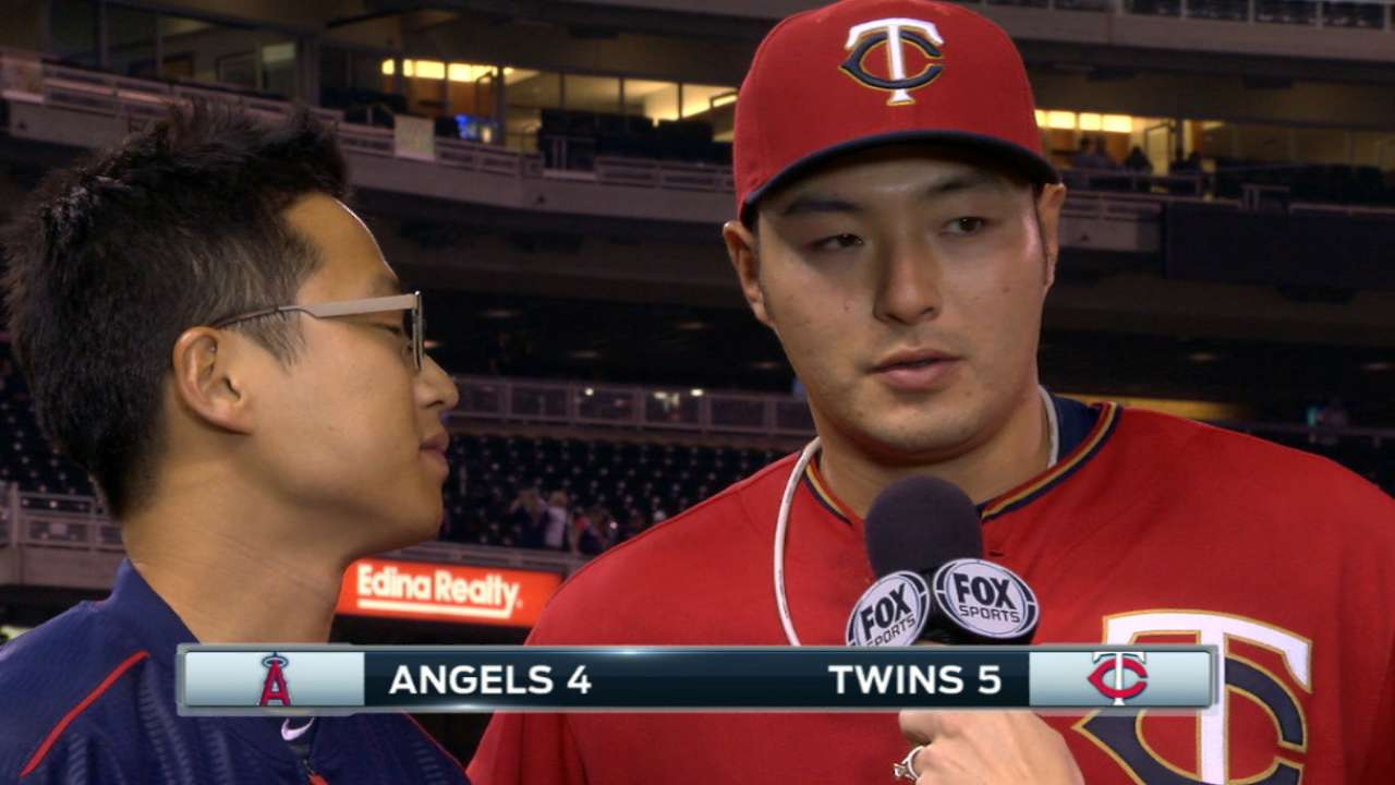 Park on Twins' 5-4 win