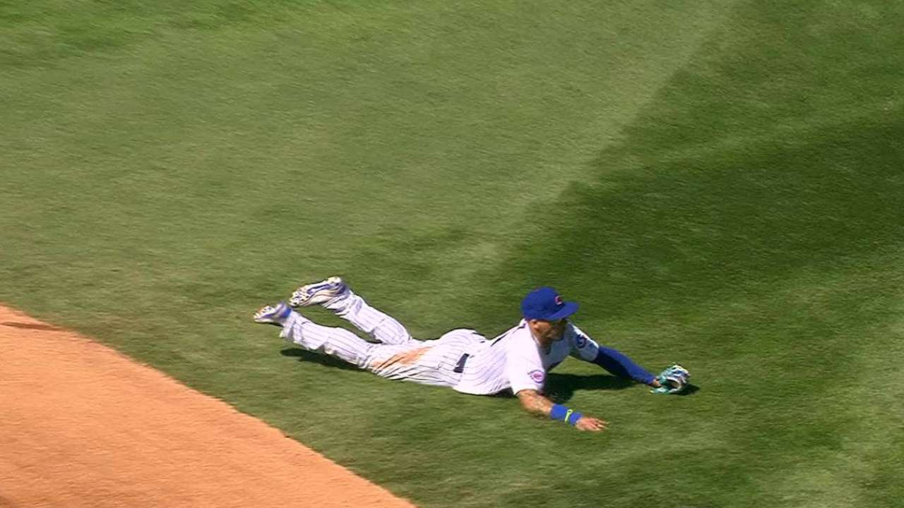 Baez hits ground running since rejoining Cubs