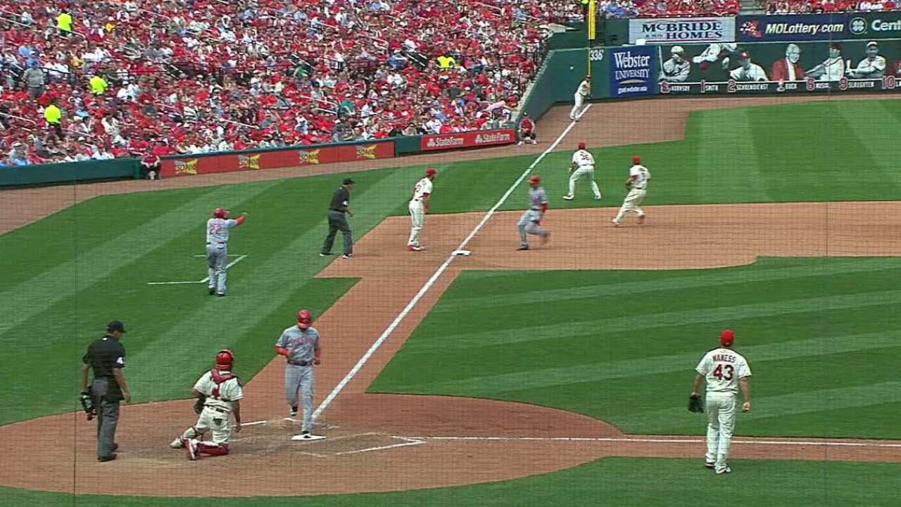 Phillips' second RBI double