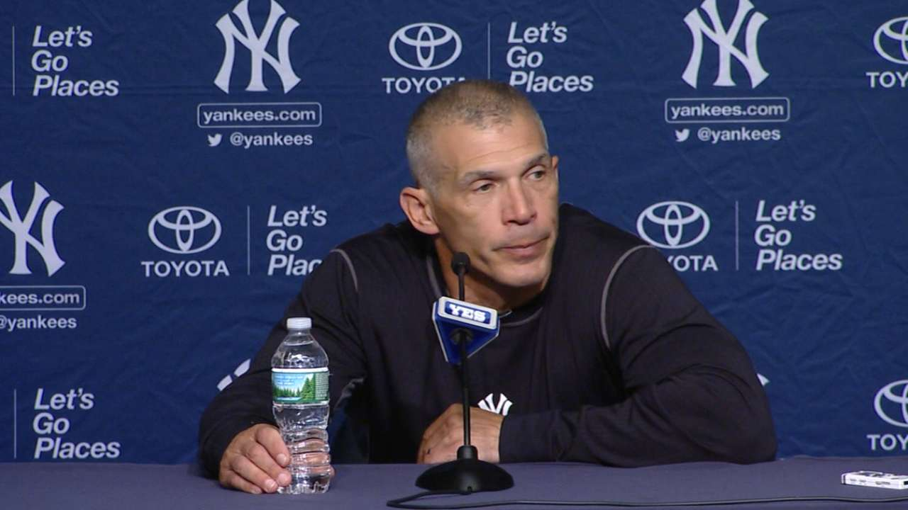 Girardi on loss to Mariners