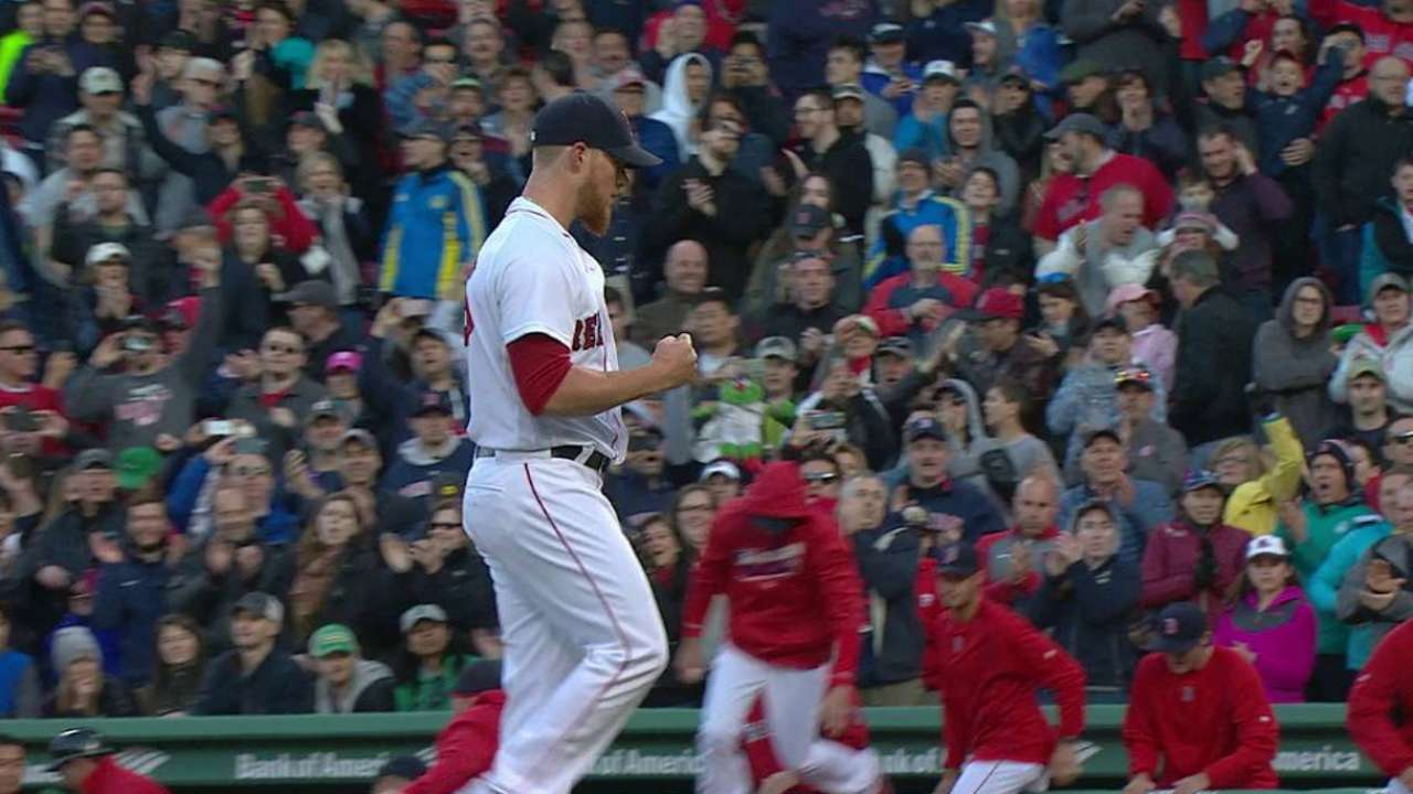 Kimbrel earns the save