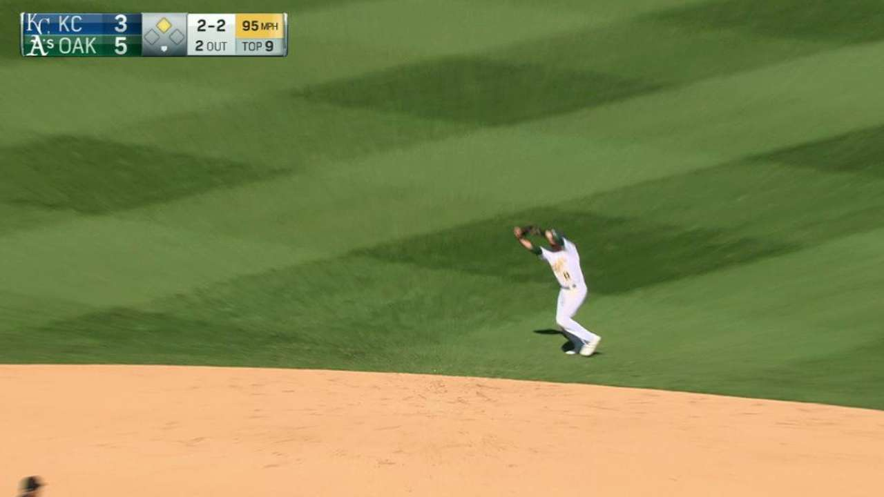 Madson notches the save