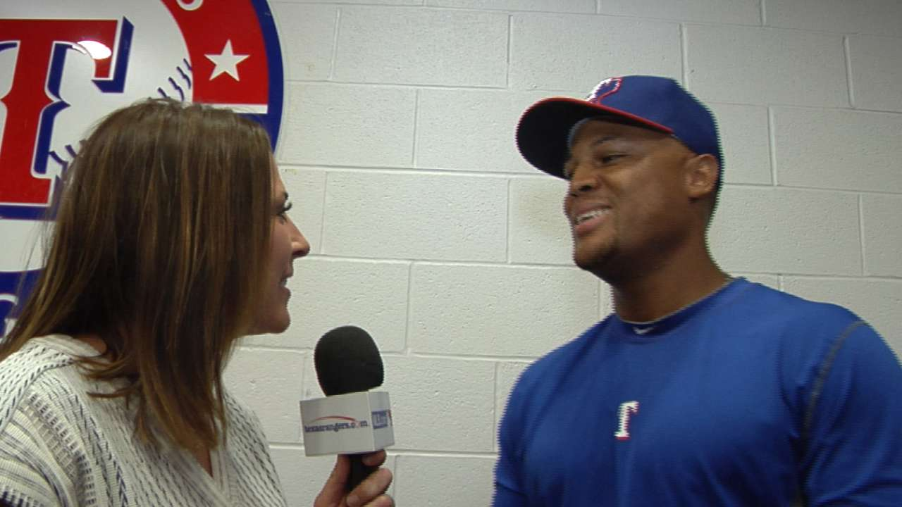 Beltre, Rangers happy to extend partnership