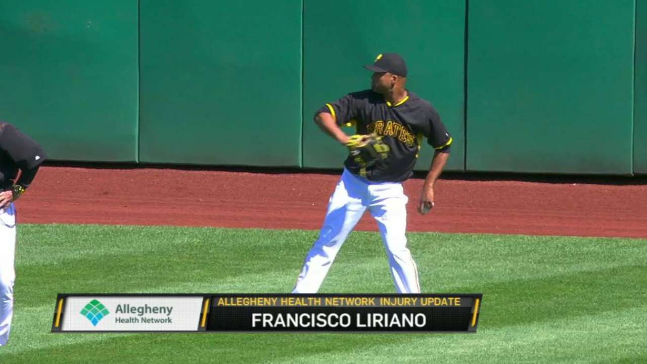 Liriano on target for Tuesday start