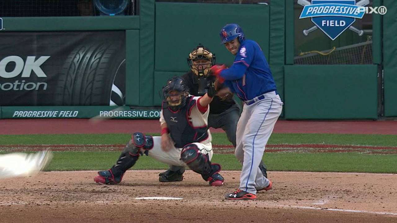 d'Arnaud HBP, day to day with bruised elbow