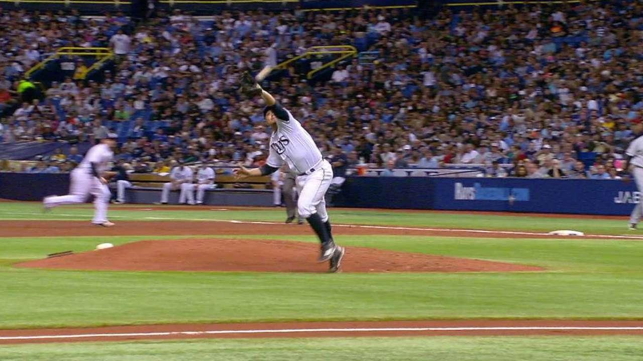 Ramirez throws out Garcia