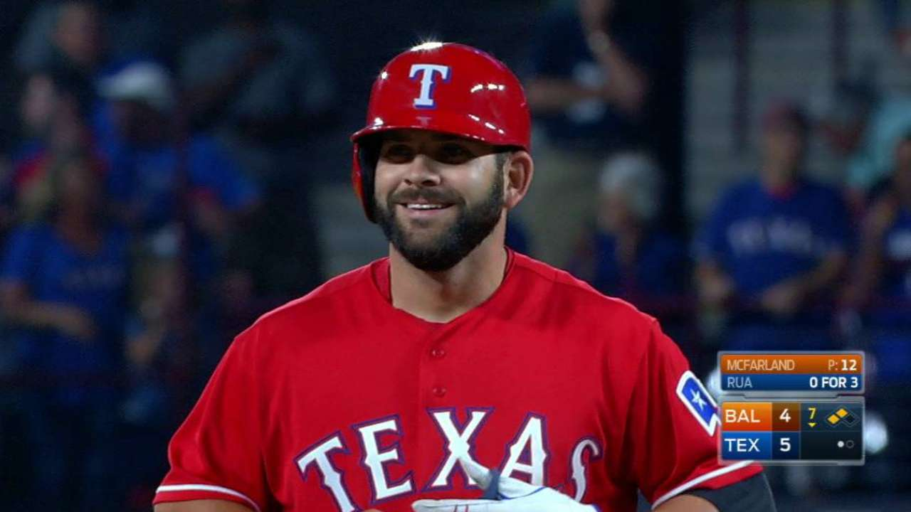 Small ball comes up big for Rangers