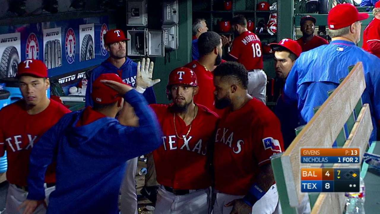 Andrus won't let one inning define him