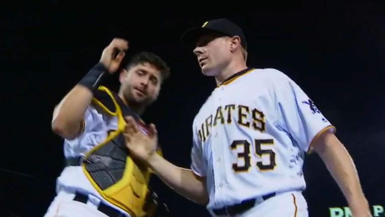 Melancon strikes out side in 9th