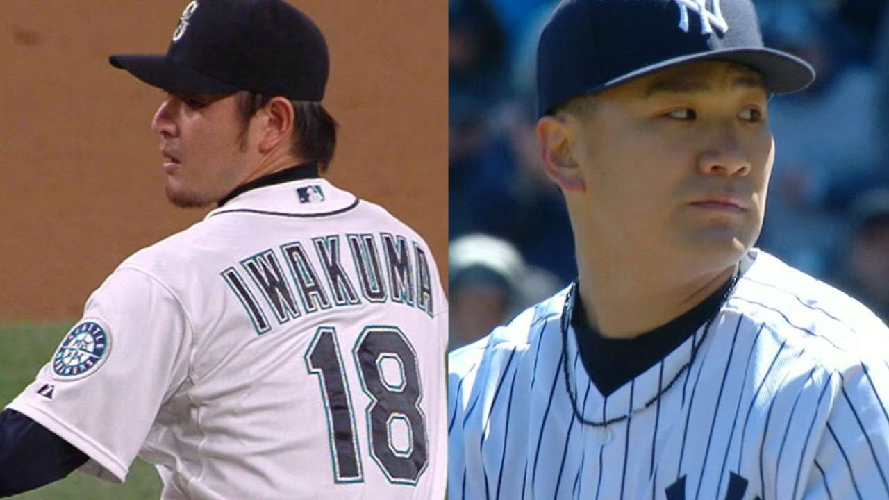Japanese pitchers take the mound today