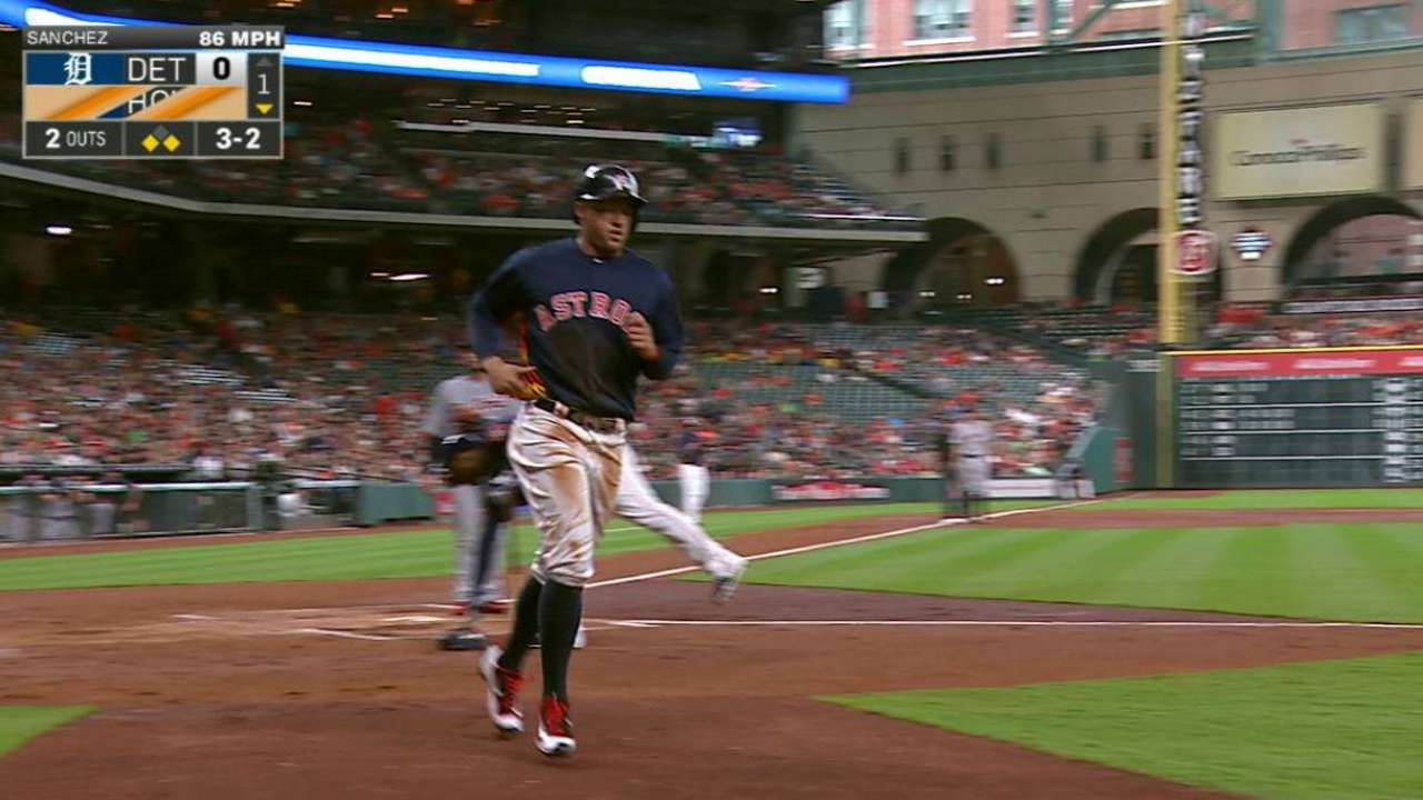 Anibal unable to avoid early trouble vs. Astros