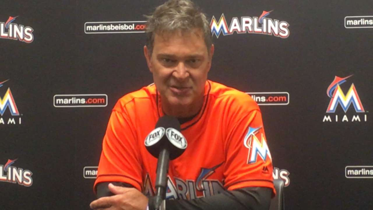 Marlins hope Barraclough adds power to 'pen