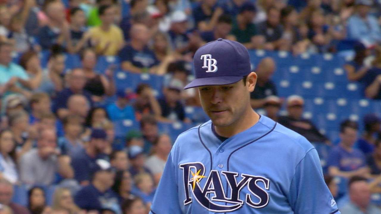 Moore fans 10 as Rays win rubber game vs. White Sox