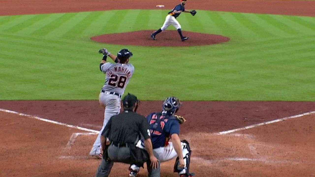 J. D. Martinez's solo home run