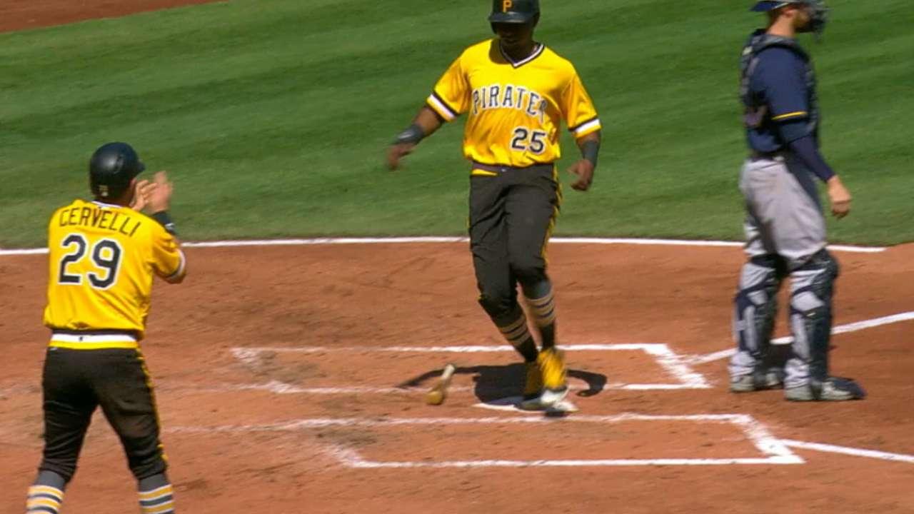 Pirates' five-run 3rd inning