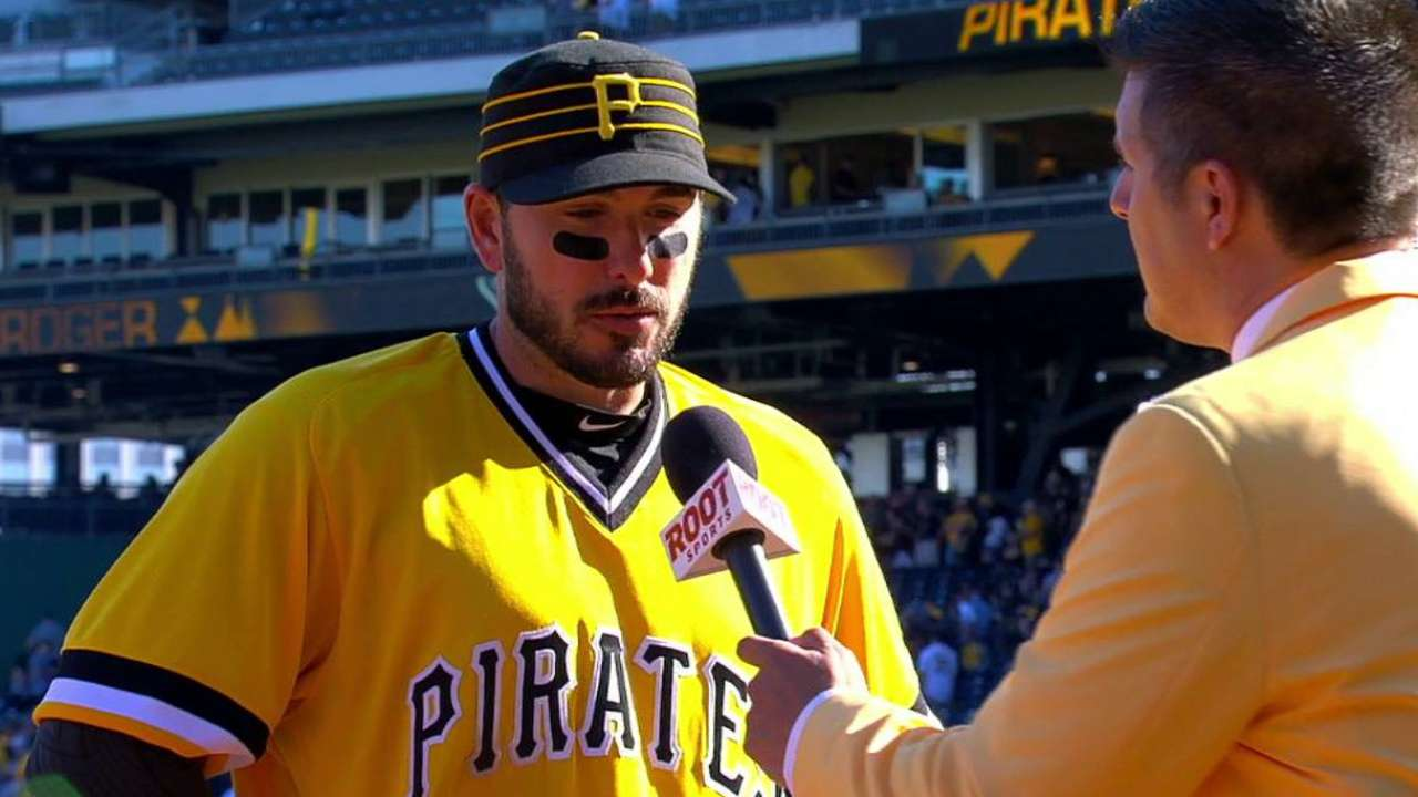 Joyce discusses the Pirates' win