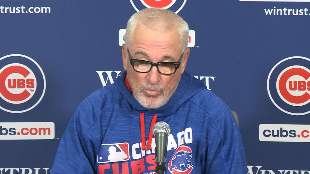 Maddon on Lester's outing