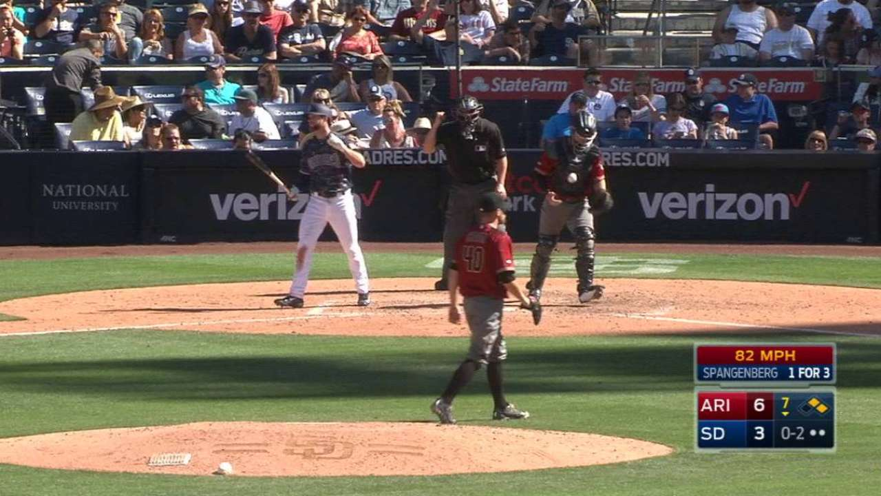Chafin strikes out Spangenberg