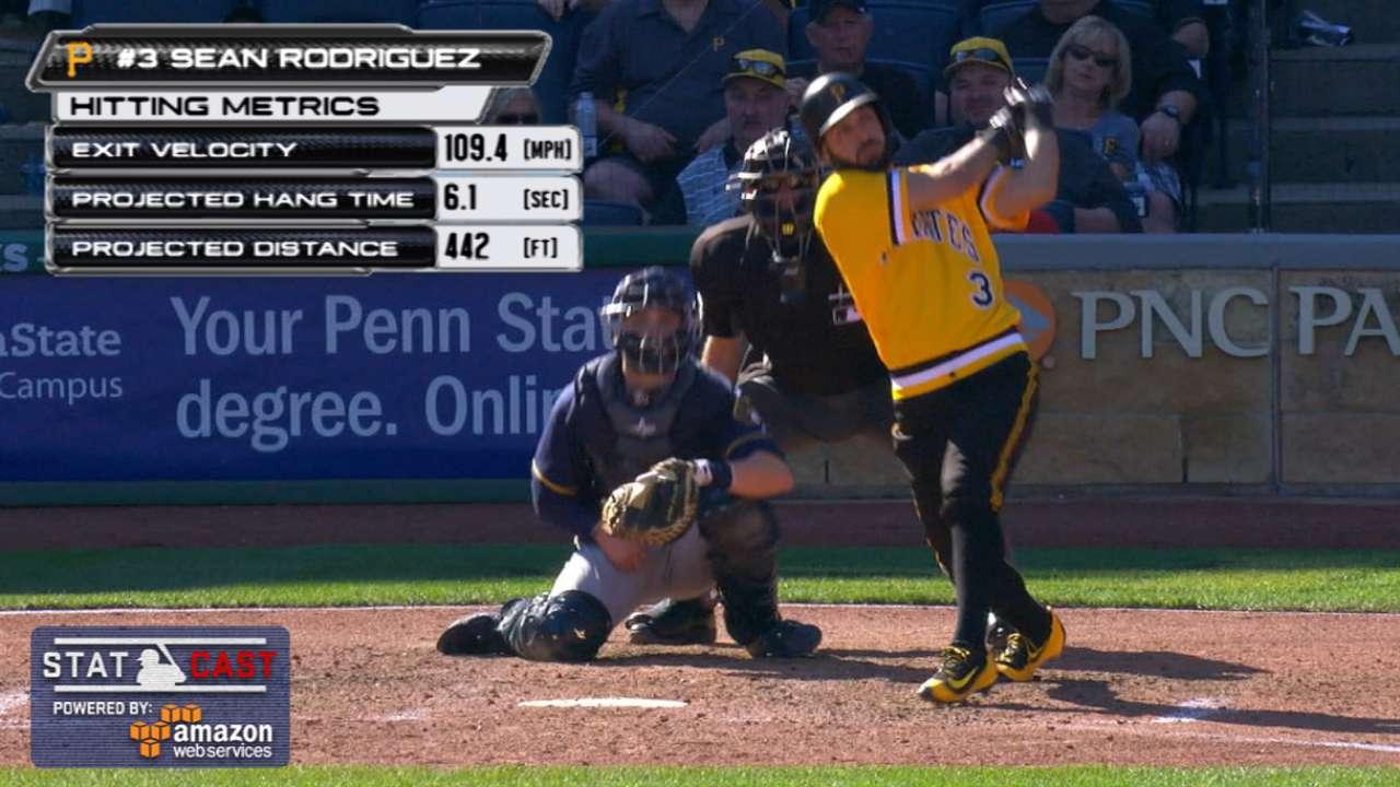 Statcast: Rodriguez's long homer