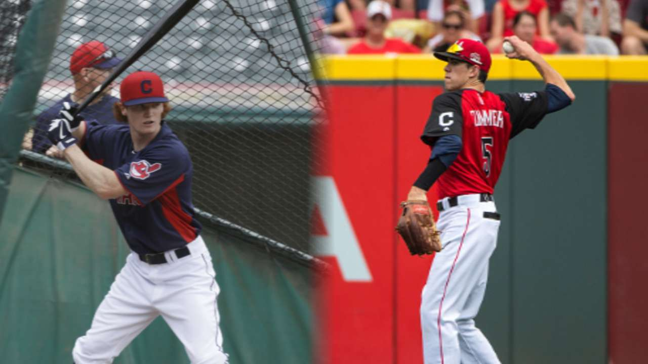 Frazier, Zimmer provide hope for Indians' future