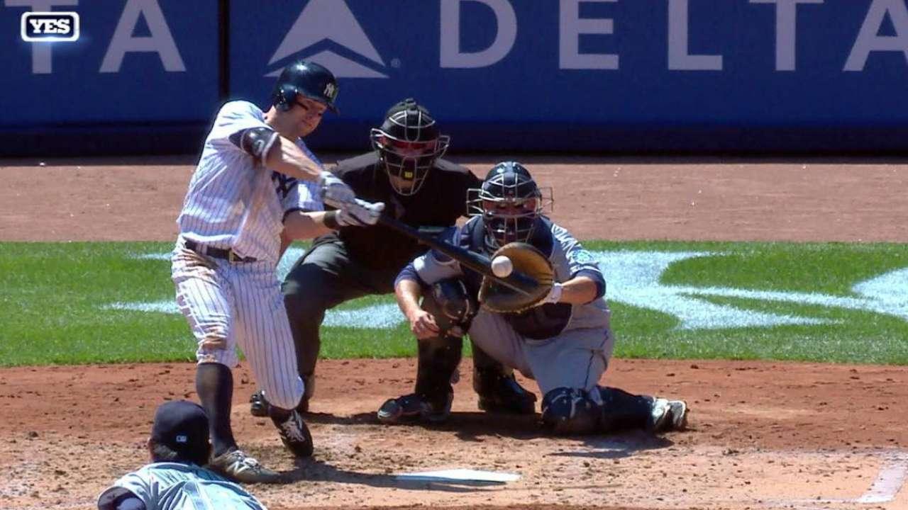 Gardner's RBI double