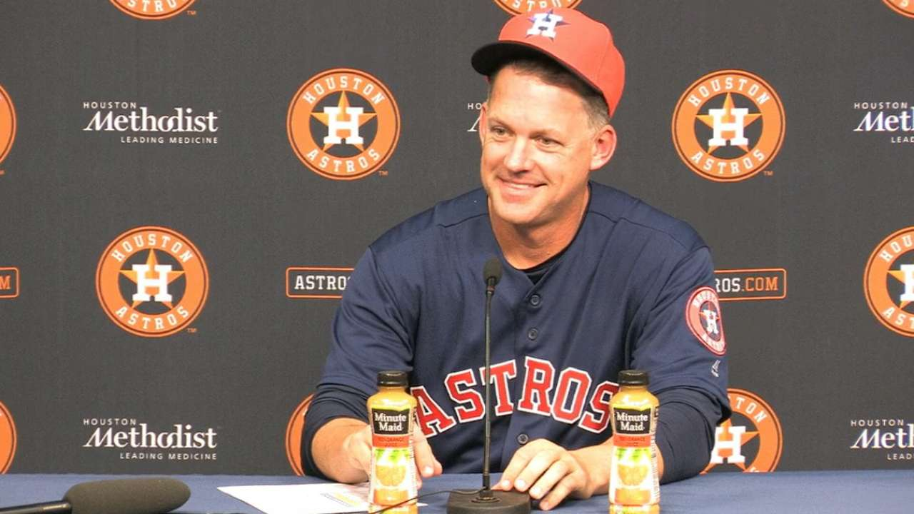 Astros looking to improve on HRs allowed
