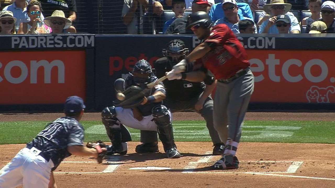 Tomas' two home runs