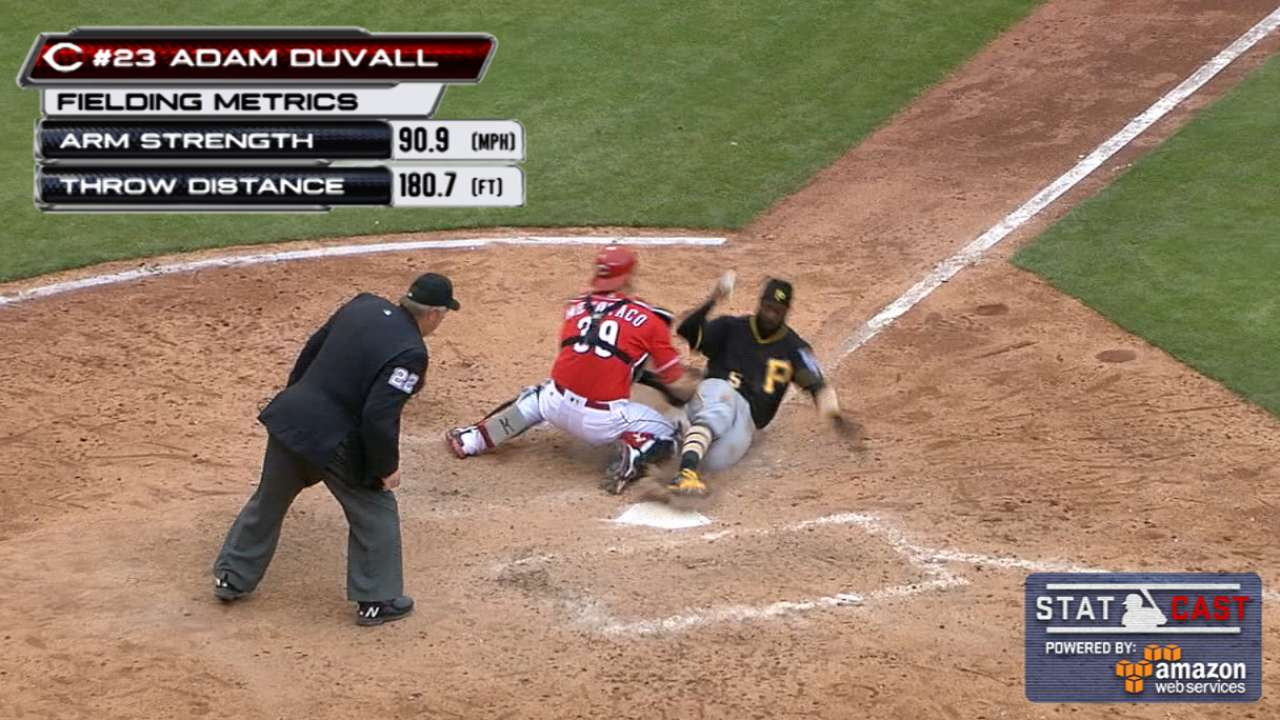Play at plate looms large as Bucs strand 14