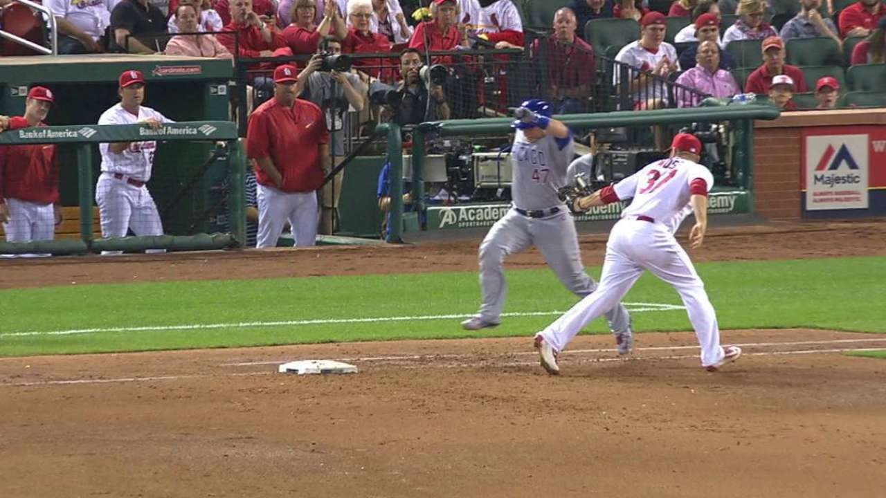 Cardinals turn double play