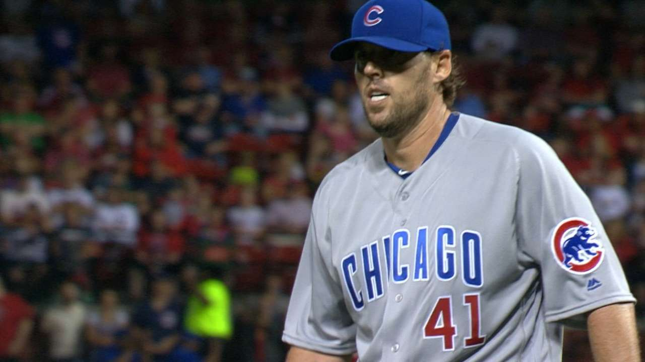 Lackey's dominant outing
