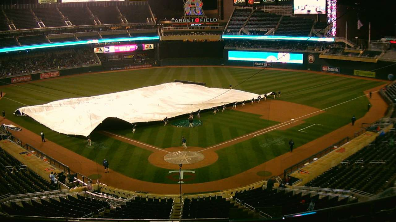 Game ends after 6th due to rain