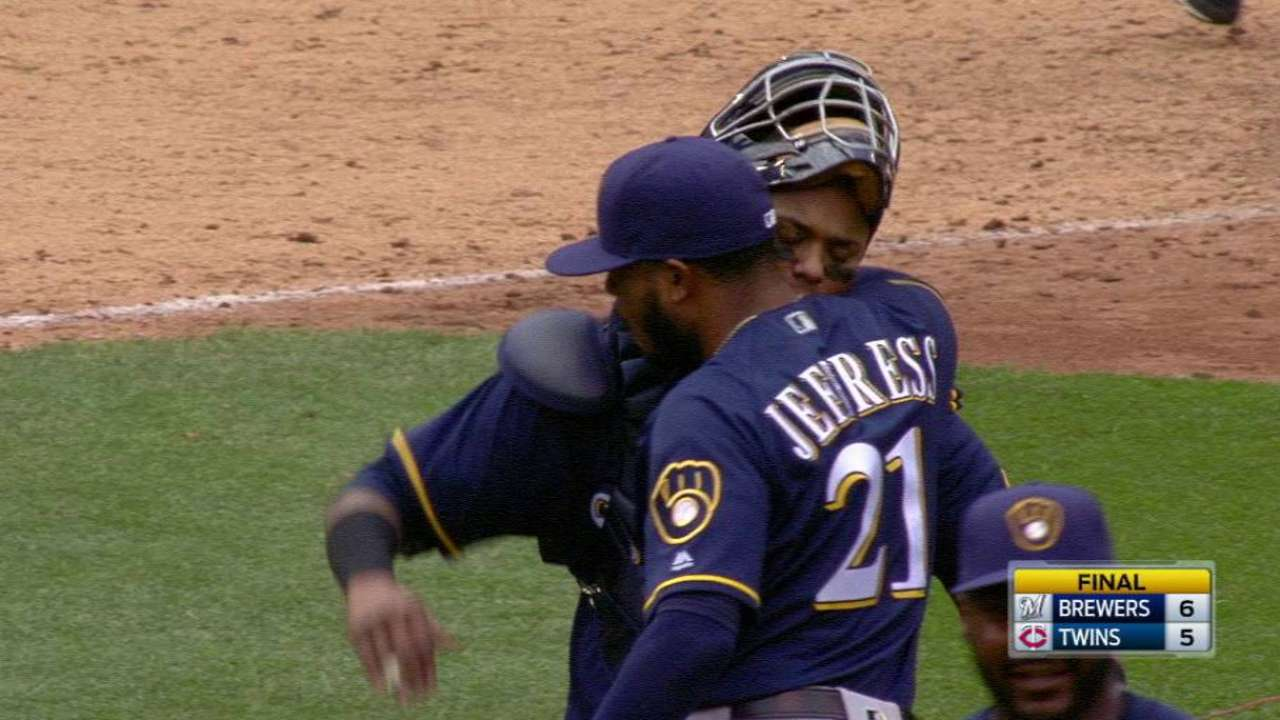 Jeffress earns the save